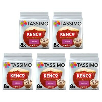Tassimo Kenco Mocha Pack Of 5 (Total Of 40 Coffee Pods) • 18.95£
