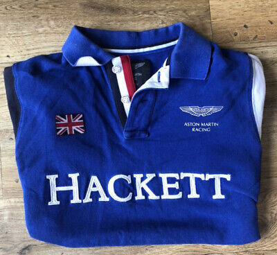 Hackett Aston Martin Polo Shirt • 20£
