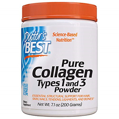 $11.97 • Buy Doctor's Best Best Collagen Types 1 And 3, 7.1 Ounce 200-grams