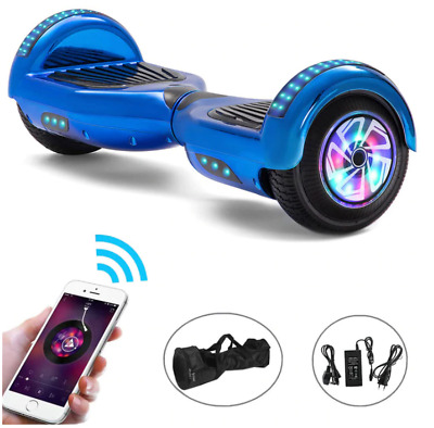 $ CDN270.92 • Buy Hoverboard 6.5 Inch Bluetooth Self Balance LED Lights Electric Scooter