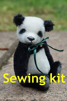 £16 • Buy Complete Sewing Kit To Make 'Freddy' Panda Bear - 4.75  Tall - Butterfly Bears