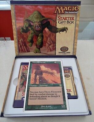 Magic The Gathering Starter Gift Box -Trading Card Game -(Complete- No Poster) • 18£