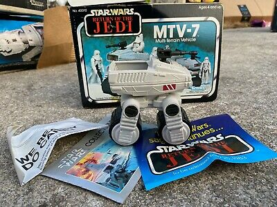 $ CDN20.88 • Buy Vintage Star Wars ROTJ MTV-7 Hoth Multi Terrain Vehicle Complete With Box