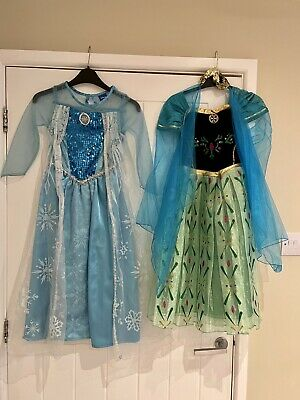 23-.   2. Fancy Dress Dress. FROZEN THEMED. 1X BABY SHOW + DISNEY 1X WORN X1 VGC • 14£