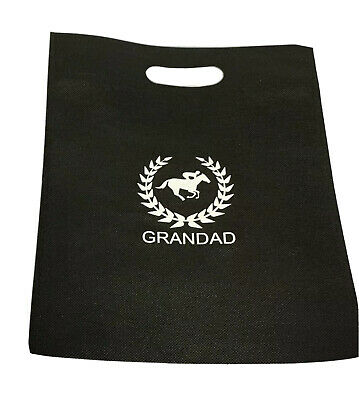 £2.25 • Buy GRANDAD GIFT BAG NOVELTY 🐎 Horse Racing BIRTHDAY/ Father's Day  Bag Size 30x25