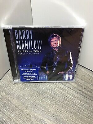 Barry Manilow This Is My Town Songs Of New York Cd New & Sealed • 5.95£