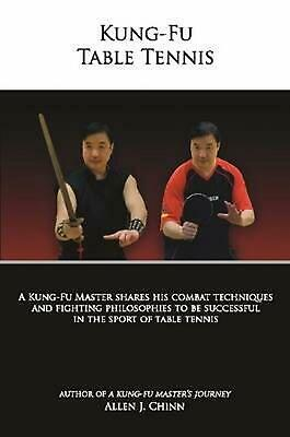 Kung-Fu Table Tennis By Allen Chinn (English) Paperback Book Free Shipping! • 12.24£
