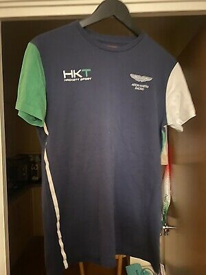 Hackett / Aston Martin Racing T-Shirt, Size Medium • 10£