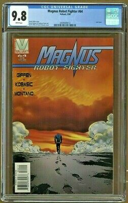 AU177.91 • Buy Magnus Robot Fighter #64 Valiant 1996 CGC 9.8 White Pages Last Issue Top Grade