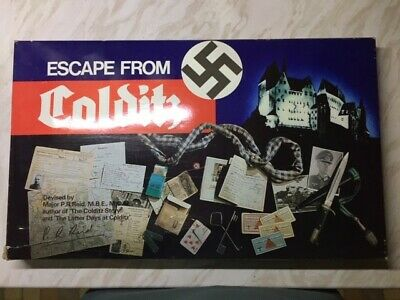 Escape From Colditz Board Game By H.P. Gibson 1970s / 1980s • 80£