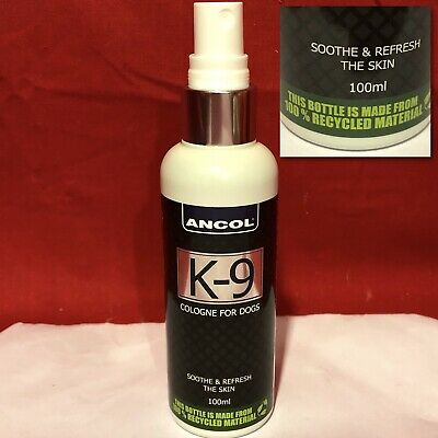 Ancol K-9 Cologne Dog Puppy Spray Fragrance Perfume Soothe Refresh The Skin  • 9.99£