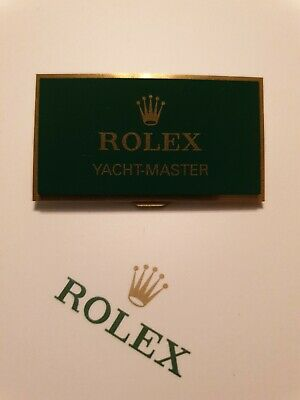 Rolex Yacht-Master Retailers Display Plaque. *Fantastic Used Condition* **RARE** • 179.99£
