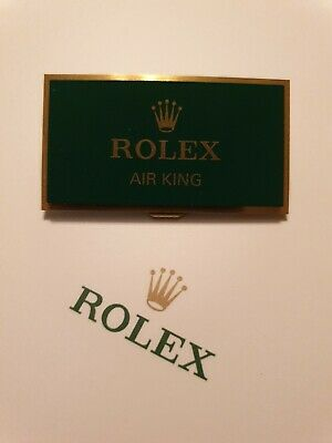 Rolex Air King Retailers Display Plaque. *Fantastic Used Condition* **RARE** • 169.99£