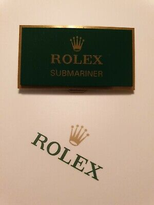 Rolex Submariner Retailers Display Plaque. *Fantastic Used Condition* **RARE** • 199.99£