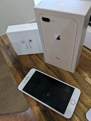 AU500 • Buy IPhone 8 Plus 64gb Gold Mint Condition Free Airpods