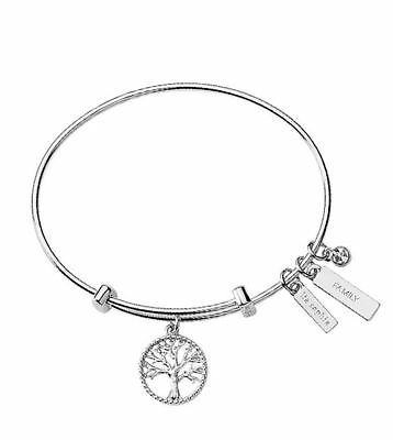 $ CDN5.06 • Buy Lia Sophia Jewelry Friendship Circle Family Bangle Bracelet. Retail $48