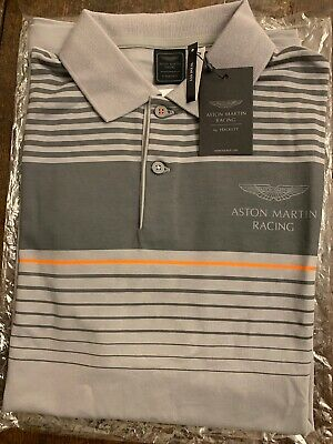 Hackett Aston Martin Racing Men's Polo Shirt, M, New With Tags RRP £105 • 37£