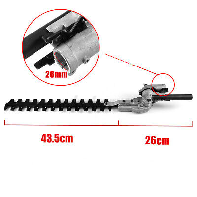 £33.59 • Buy Pole Hedge Trimmer Attachment For Petrol Power Head Brush Cutter Lawn Mower