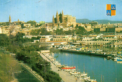 Postcard  Europe  Spain Mallorca  Palma  De Mallorca     Posted  • 3£