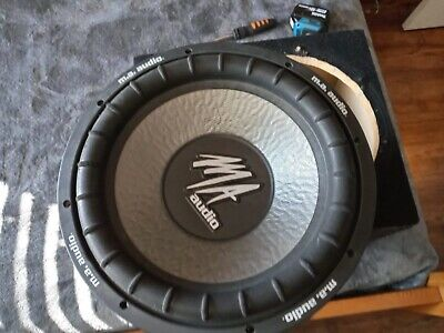$220 • Buy Ma Audio Subwoofer 12 Inch 1200 Watts Max 600 Watts Rms In Ported Box