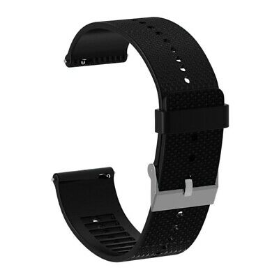 AU15.89 • Buy 2X(20mm Silicone Watch Band Bracelet Strap For Polar Ignite Smartwatch AcceT5L8)