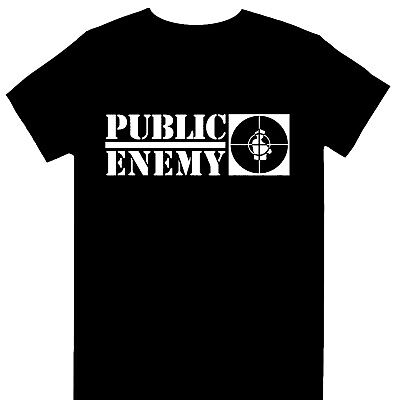 £15.99 • Buy Public Enemy - Crosshairs Logo Official Licensed T-Shirt