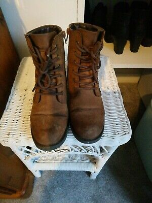 Clarks Tan Boots Size 4 • 2£