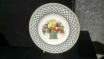 Villeroy & Boch  Basket  8.25  Salad Plate Discontinued Pattern • 20£