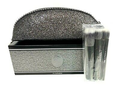Mac Makeup Travel Brushes With Case Keepsakes Mineralize Set • 17.89£