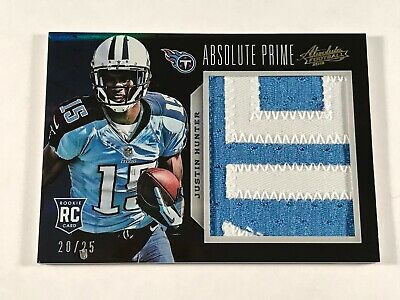 $2.99 • Buy 2013 Absolute Prime Jersey Patch /25 - Justin Hunter Rc #216 - Sweet