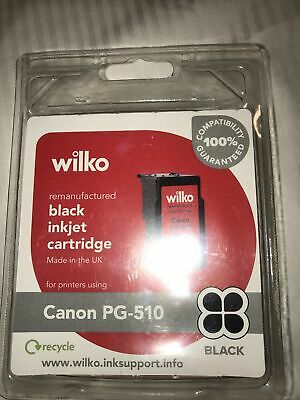 Remanufactured Ink For Canon PG-510 PG 510 Black For MP240 MP250 MP252 Cartridge • 6.29£