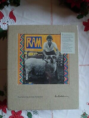 Paul McCartney -  RAM Deluxe 4 CD + DVD Numbered Edition - New & Sealed • 180£