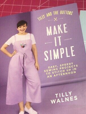 Tilly And The Buttons 2020 Make It Simple Pattern Book • 20£