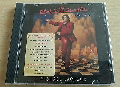 Blood On The Dance Floor (History In The Mix) - Michael Jackson - CD Album 1997 • 5£