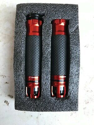 $9.99 • Buy Rizoma Motorcycle Grips - Red Annodized - New!