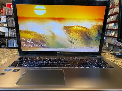 "View Details Toshiba P870 Gaming Laptop, NVIDIA,17.3"", I7-3610QM 2.3GHz CPU, 8GB RAM, SSD+HDD • 339.00$"