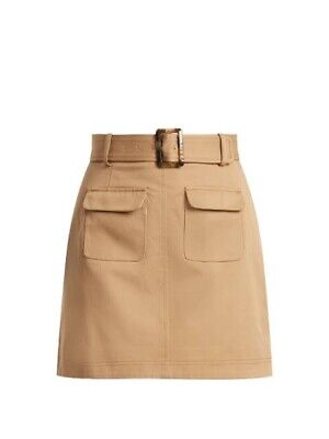 AU150 • Buy Alexachung Camel Pocket Mini Skirt. Worn Once, Great Condition!
