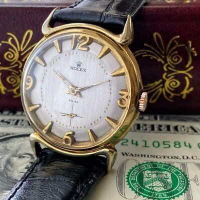 $ CDN2885.53 • Buy ROLEX 14KGP Analog Watch Hand Winding Vintage 1950's Rare 37mm From Japan