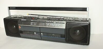 Vintage Sony 4 Band FM/MW/LW/SW Stereo Cassette- Corder. • 19.99£