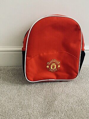 Manchester United School Bag Backpack. (Official) - NEW • 8£