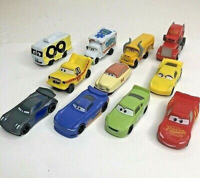 Disney Cars Lightning McQueen Figure Cake Topper Lot Of 11 Toys • 7.89£