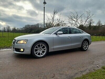 2010 Audi A5 2.0 Tdi S Line Sportback 4 Door,silver,mot,fsh A4. May Px Or Swap • 5,495£