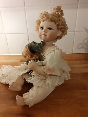 Porcelain Doll Called Rosie Excellent Quality  • 10£