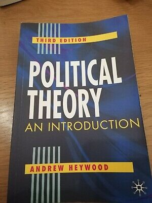 Political Theory: An Introduction By Heywood, Andrew Paperback Book • 4.90£