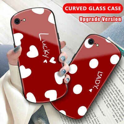 AU5.01 • Buy Cute Cover For IPhone 11 Pro Max XR XS Max 8 7 Plus 6 Love Dot Curved Glass Case