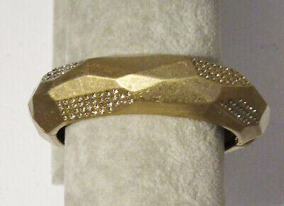$ CDN0.13 • Buy Lia Sophia Jewelry Cut Crystals Bracelet In Gold