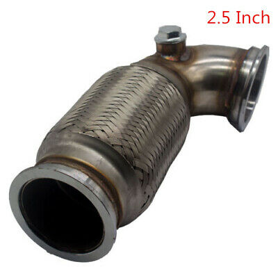 AU89.90 • Buy Garrett 2.5  V-Band To V Band Downpipe Low Profile 90 Degree W/Flex Bellow,O2