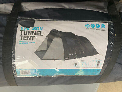 Halfords New 6 Person Tunnel Tent • 25£
