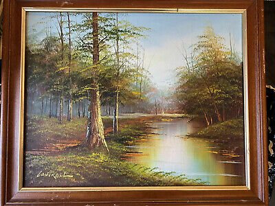 $ CDN298.39 • Buy Landscape Oil Painting By Listed Artist Phillip Cantrell