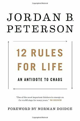 AU190.71 • Buy 12 Rules For Life: An Antidote To Chaos By Peterson, Jordan B. 0345816021 The